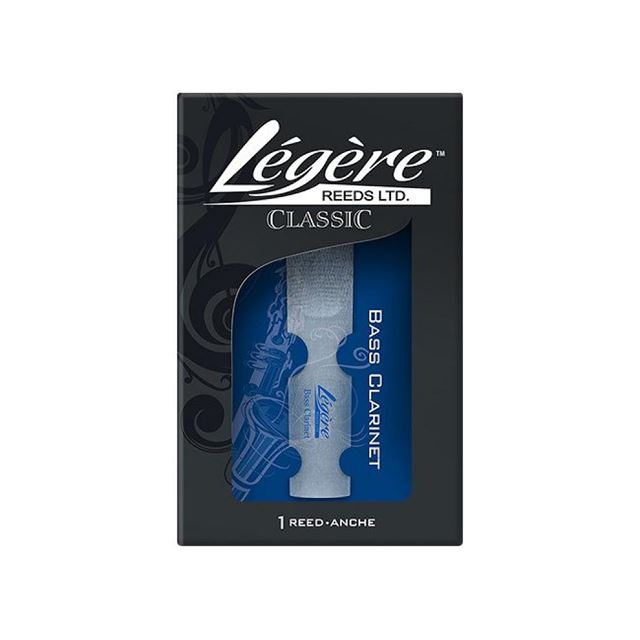 Legere Classic Bass Clarinet Synthetic Reed