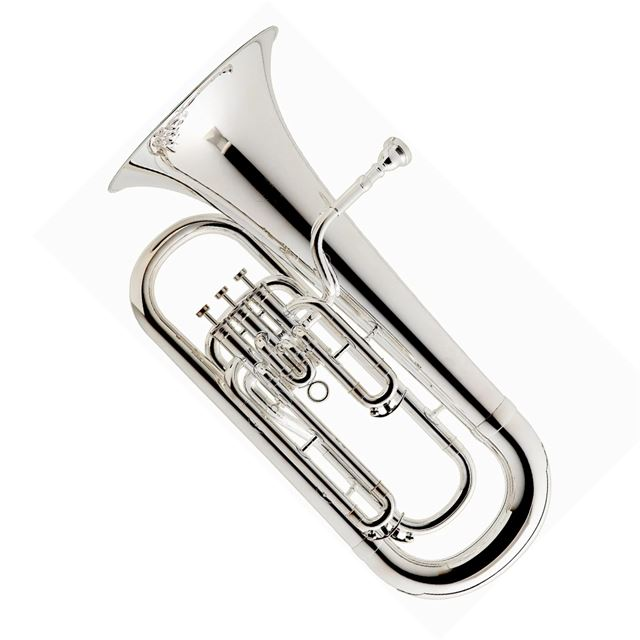 BESSON 3 VALVE 1000 SERIES STUDENT EUPHONIUM SILVER PLATED