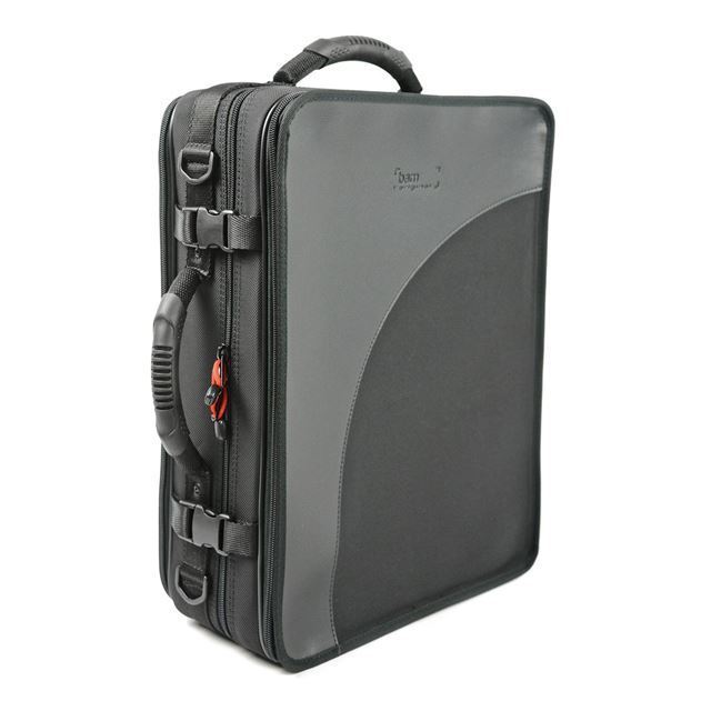 Bam Trekking Double Bb & A Clarinet Case Black