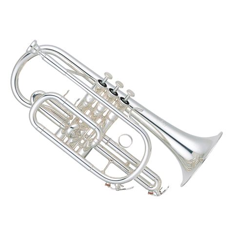 Yamaha YCR6330SII Silverplated Bb Cornet
