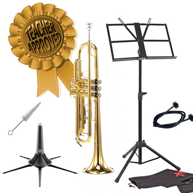 Carol Brass Ultimate Beginner's Trumpet CTR2000HYSSBBL Smart Choice Pack