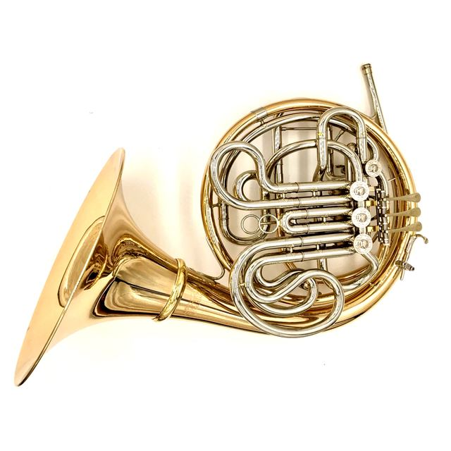 BRIZ A980 DOUBLE FRENCH HORN WITH DETACHABLE BELL