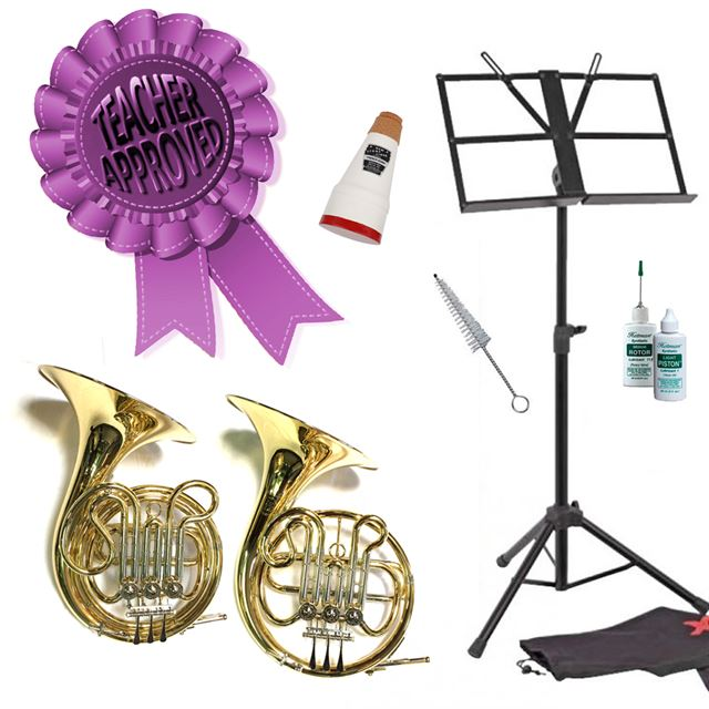 Cambridge Cadet Bb Single French Horn Smart Choice Pack