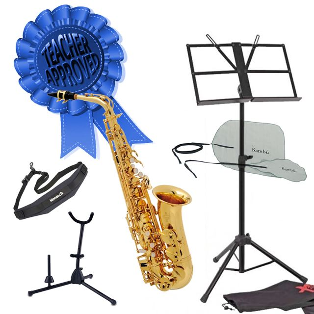 Buffet 100 Series Student Alto Saxophone Smart Choice Pack
