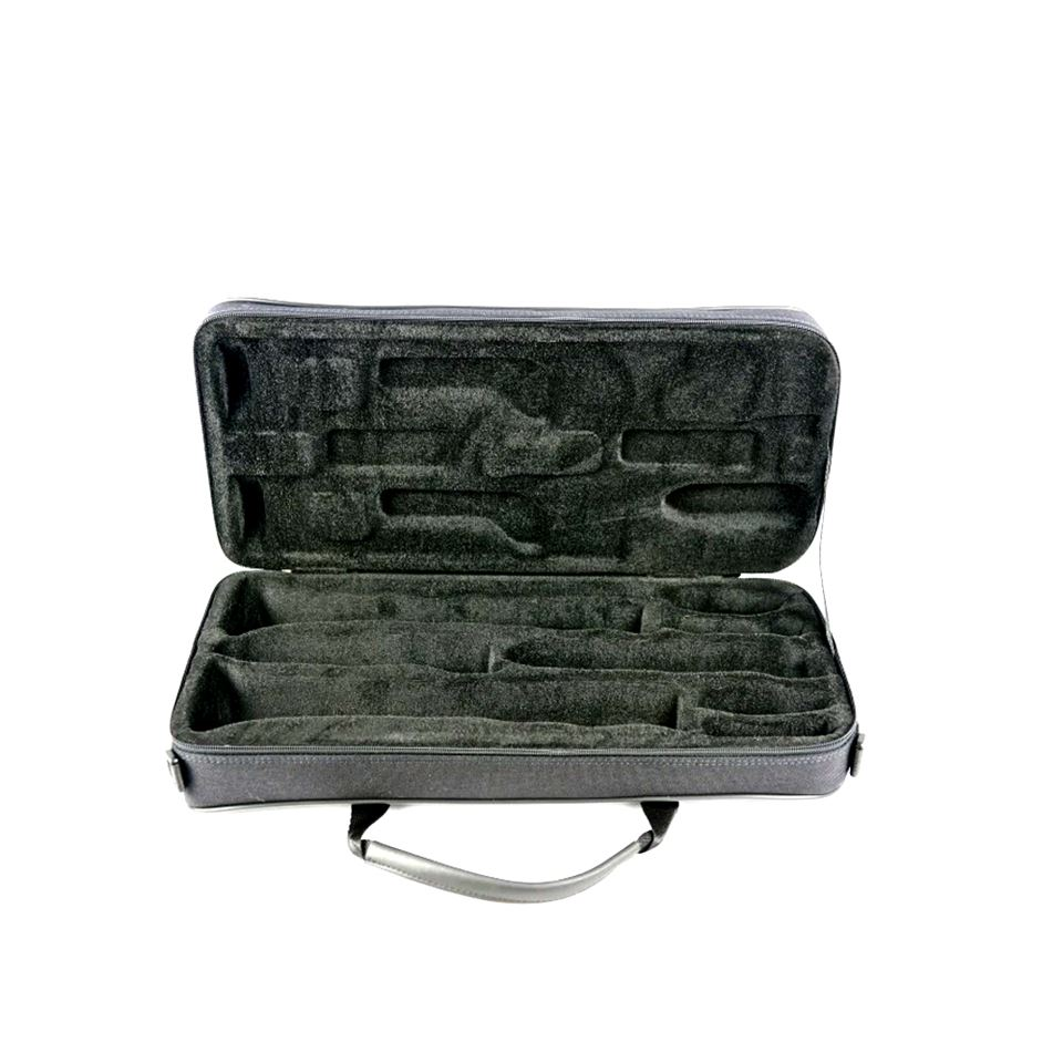 BAM CLASSIC DOUBLE BB & A CLARINET CASE interior