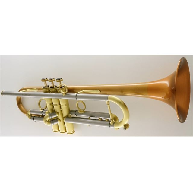 CAROL BRASS CUSTOM BB TRUMPET PHOSPHOR BRONZE SATIN FINISH CTR6280LPSMBBSL