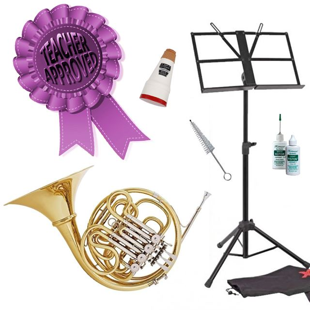 Hans Hoyer 801A French Horn Smart Choice Pack