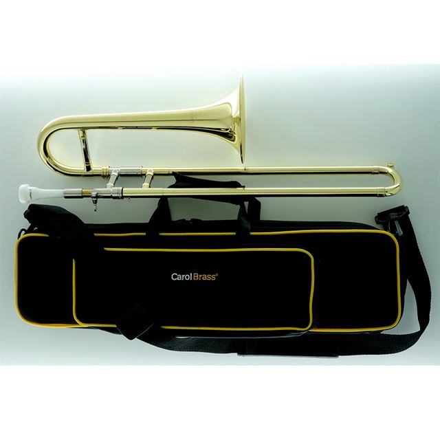 CAROL BRASS MINI TROMBONE