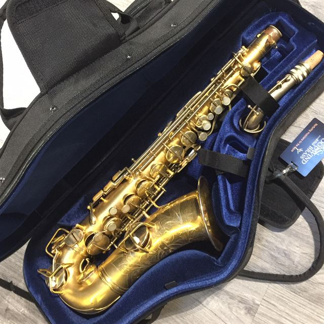 CONN NEW WONDER GOLD PLATED ALTO SAX