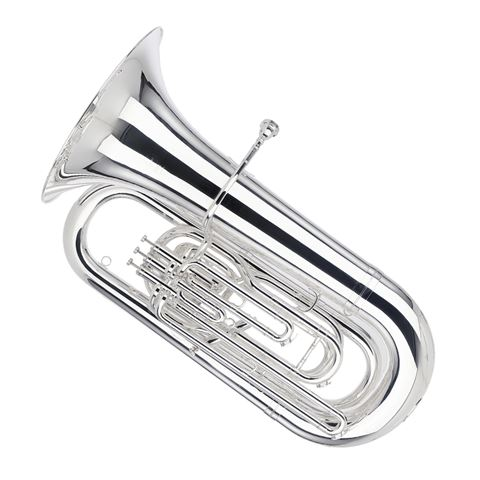 Besson Sovereign BBb Tuba - Silver Plated