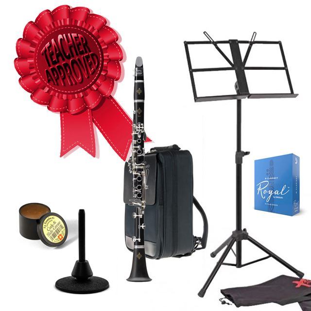 Buffet Crampon E12F Intermediate Bb Clarinet Smart Choice Pack