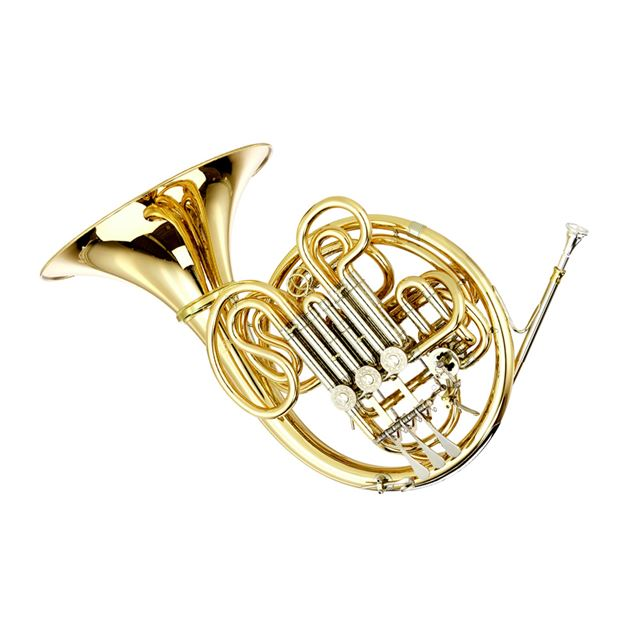 CAMBRIDGE GRADUATE DOUBLE FRENCH HORN WITH DETACHABLE BELL