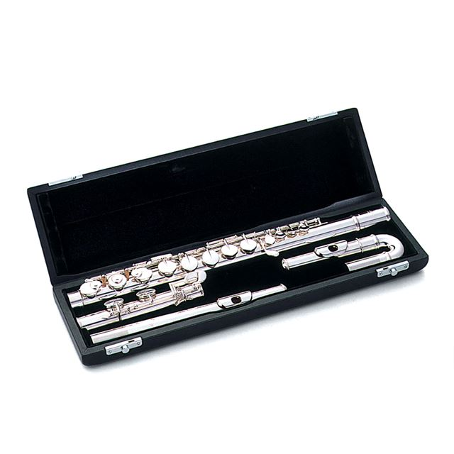 PEARL QUANTZ 505EUS FLUTE WITH STRAIGHT AND CURVED HEAD JOINTS