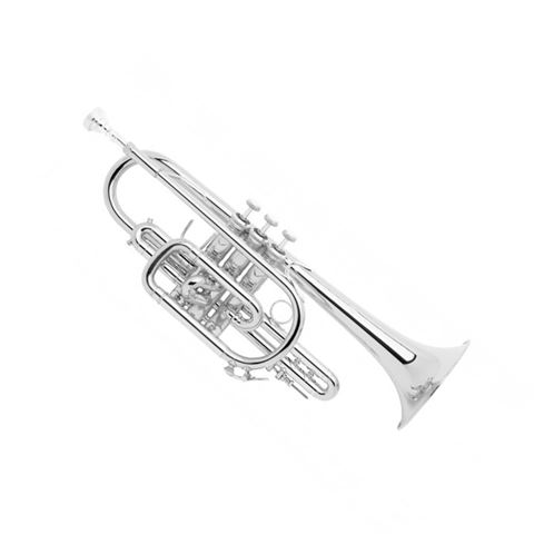 Bach Stradivarius 181SL Bb Silverplated Cornet