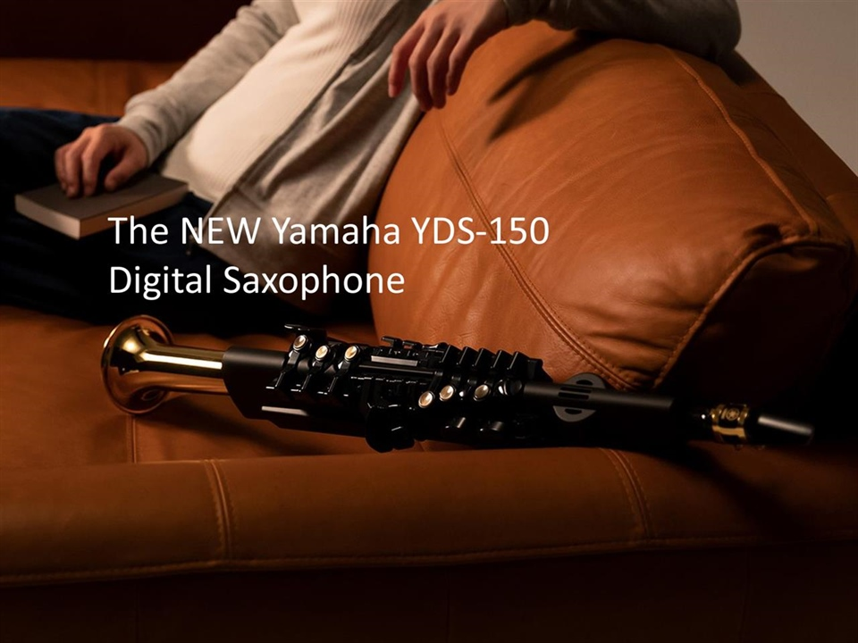 The New Yamaha YDS150 Digital Saxophone